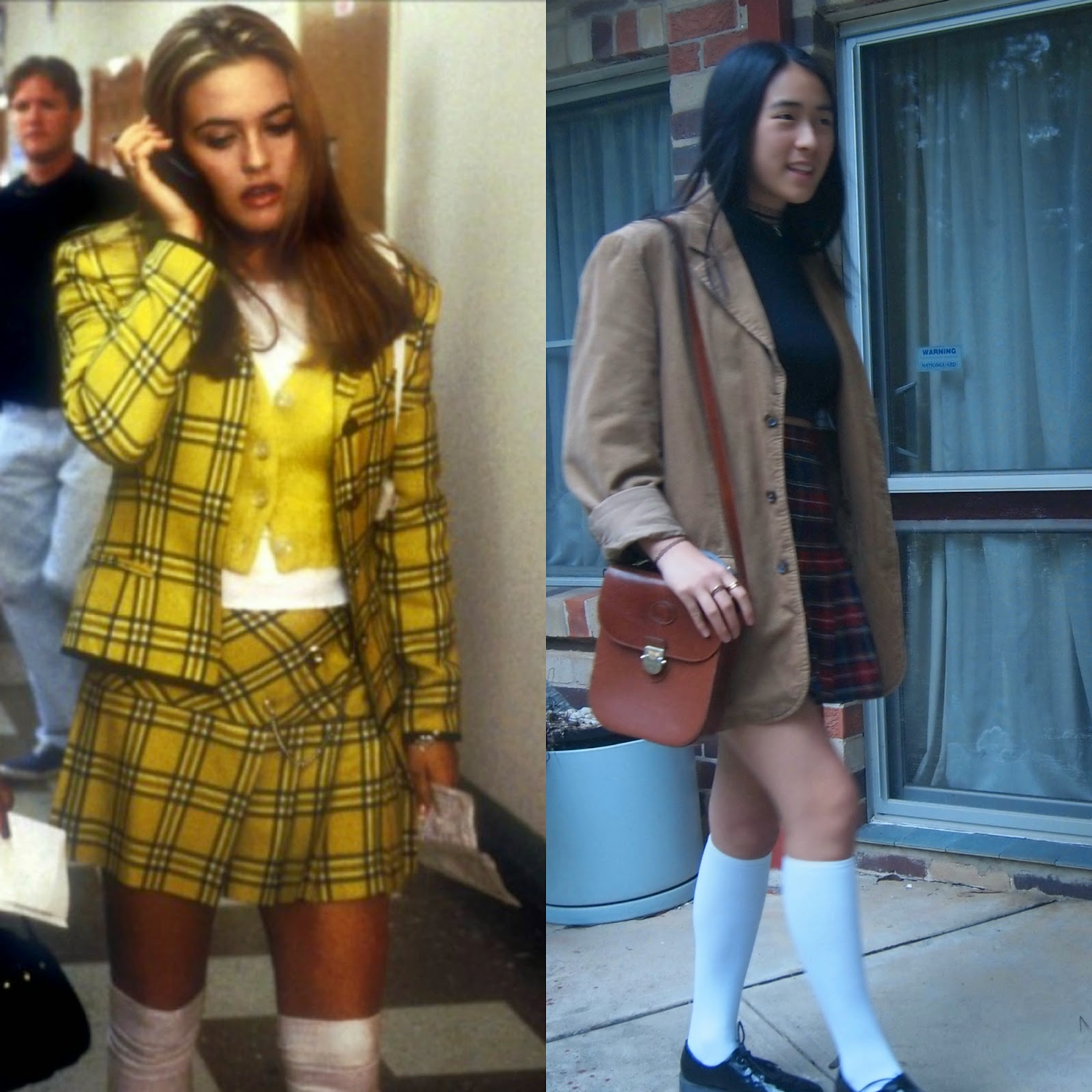 Clueless Inspired Outfit