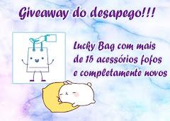 Giveaway do Desapego | Lucky bag com mais de 15 acessórios fofos!!!