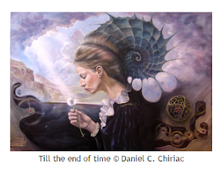 Till the end of time © Daniel C. Chiriac, romantic tribute painting