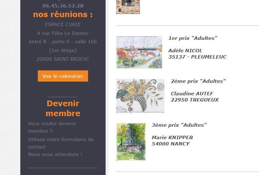 Concours d'art postal d'Armor 2019