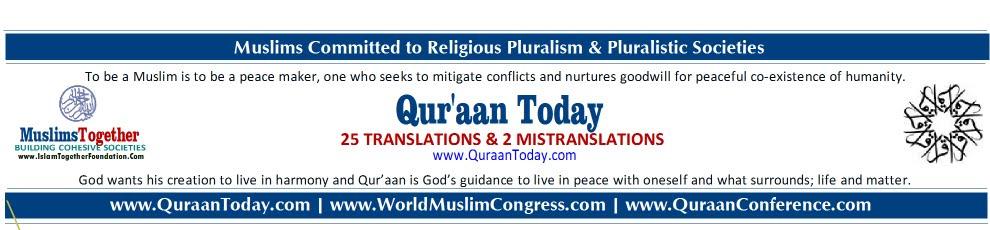 Qur'aan today