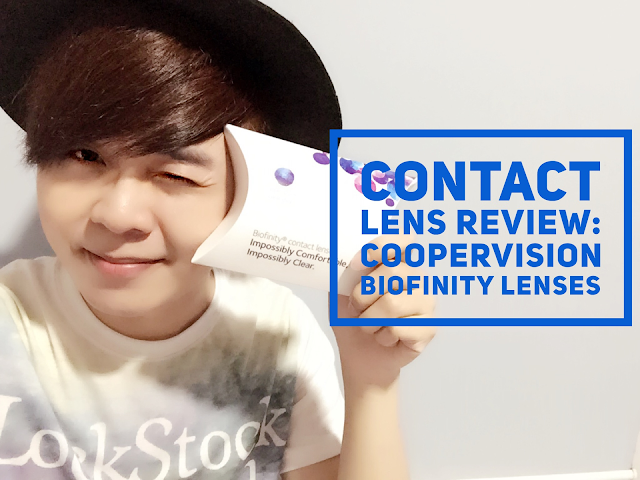Contact Lens Review: CooperVision Biofinity Singapore