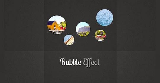 Bubble Slideshow Effect
