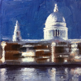 St. Paul's III by Liza Hirst