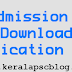 Calicut University PG Admission 2014 Application Form