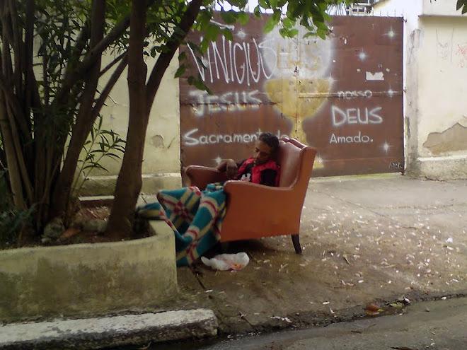 Manhã gelada em São Paulo... E você vai reclamar do que? Agradeça por sua vida.