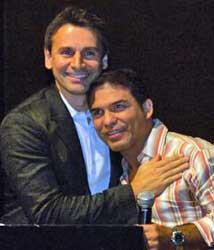 Murilo Rosa e Gerson Sanginitto