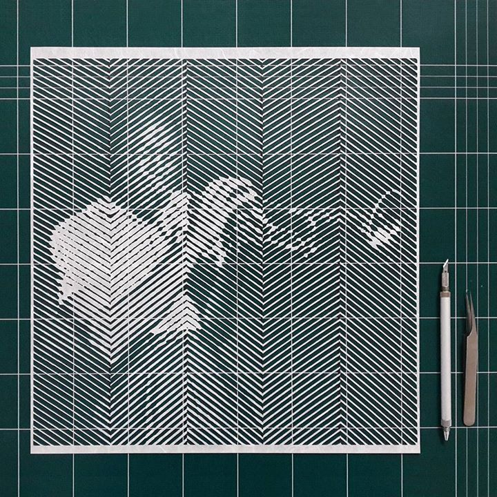 15-Louis-Armstrong-Yoo-Hyun-Paper-Cut-Celebrity-Photo-Realistic-Portraits-www-designstack-co