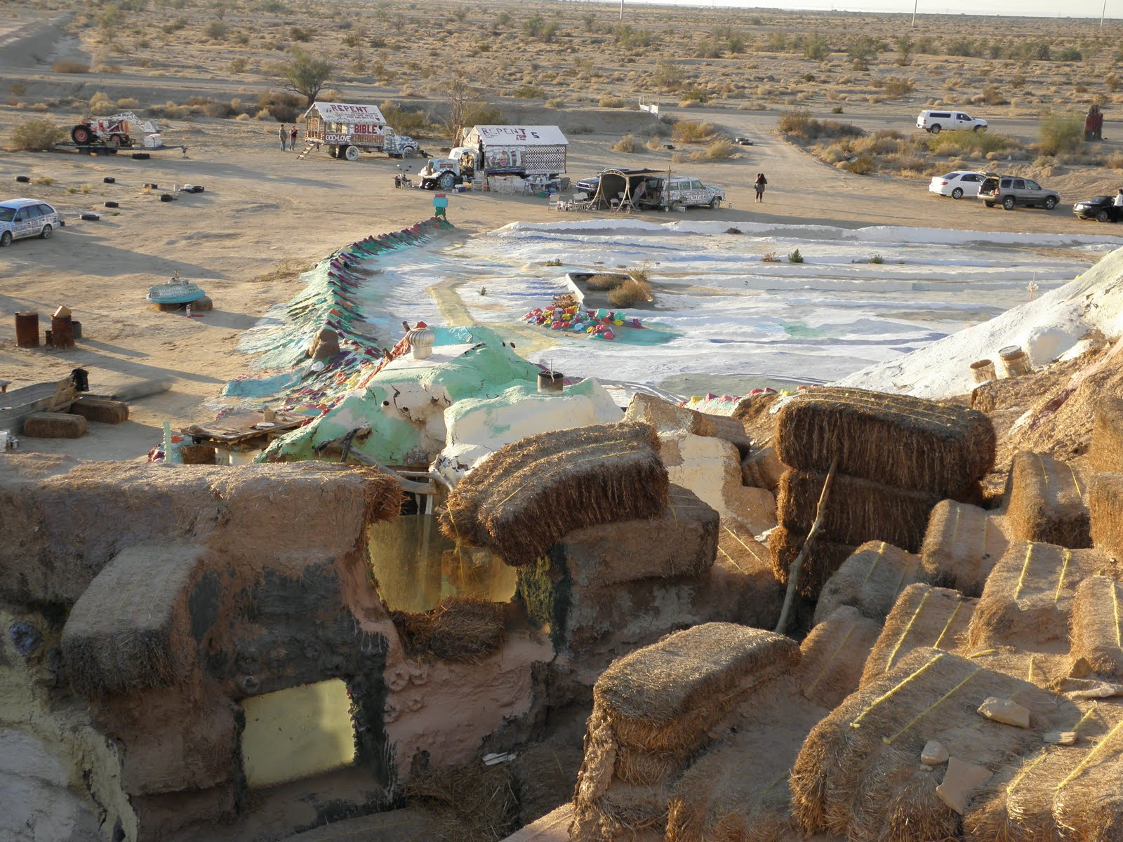 Celebrating Creativity  Folk art at SALVATION MOUNTAIN by Leonard