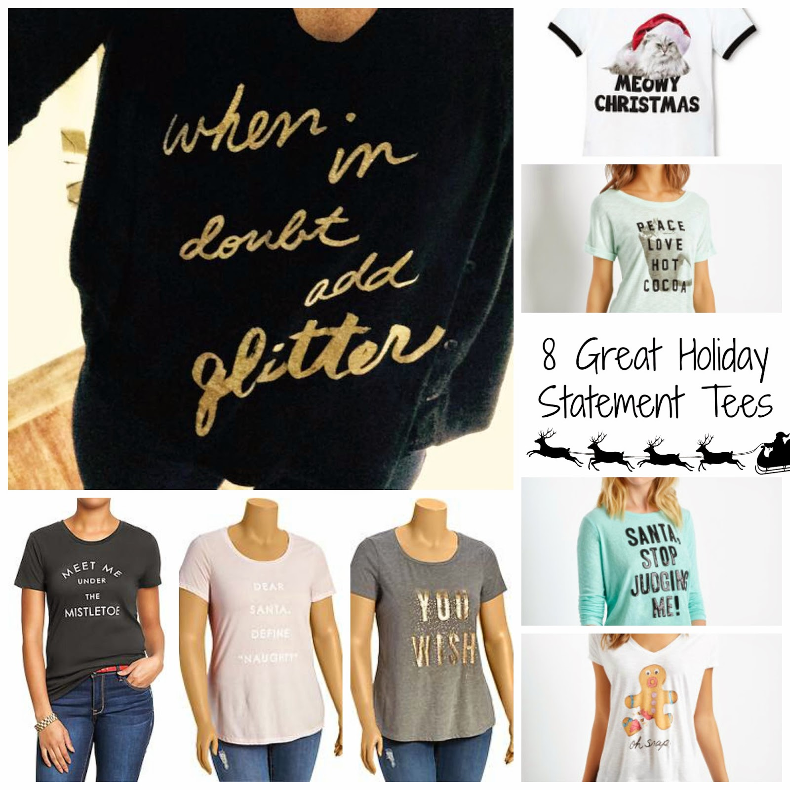 Holiday t-shirts Graphic Tees