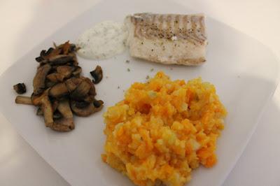 Filet de morue purée de carottes