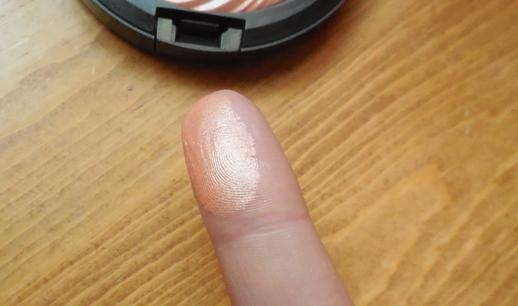 mac cosmetics, magnetic nude, fairly precious swatch