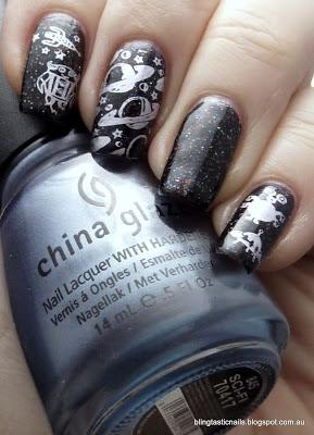 Ulta3 Triple Threat with China Glaze Sci-Fi Stamping
