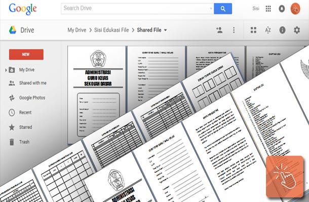 Download Administrasi Guru Kelas SD Lengkap