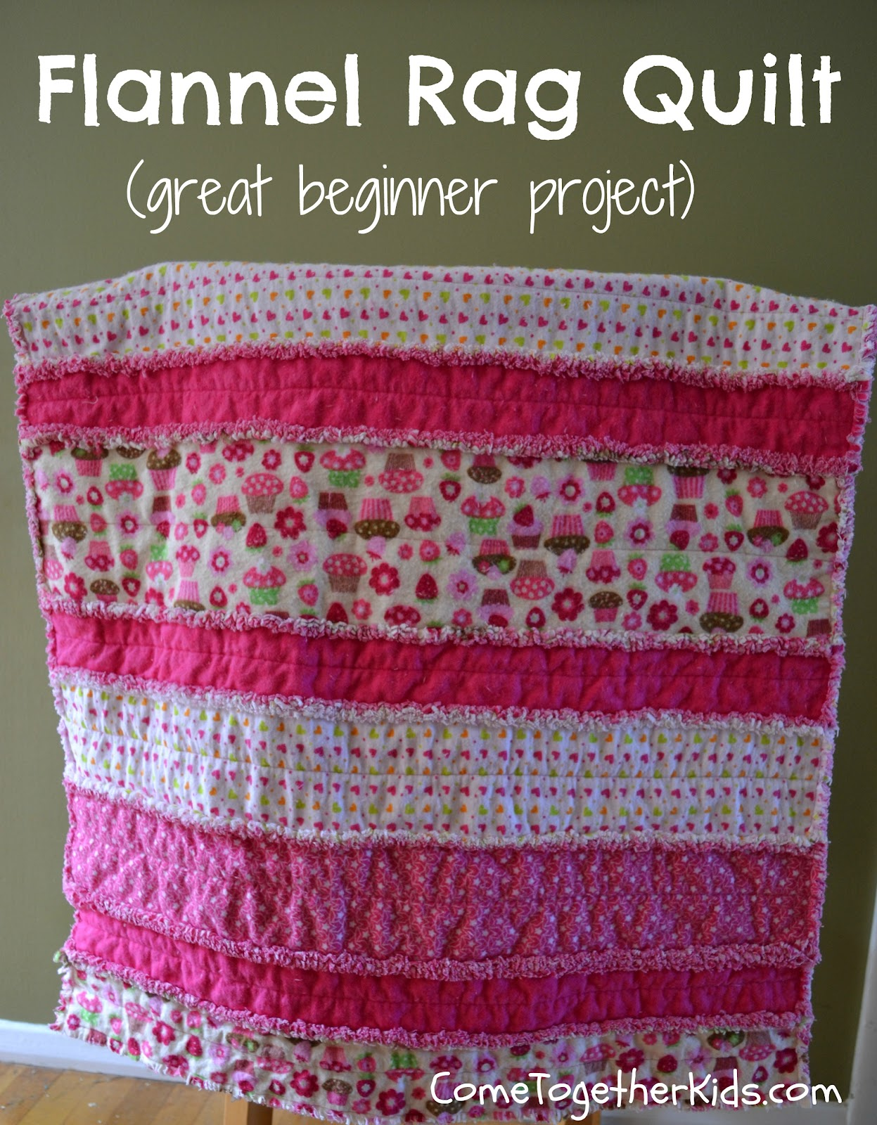 Come Together Kids: Flannel Rag Quilt : rag quilt with cotton fabric - Adamdwight.com