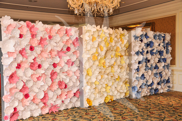 photos wall design by atmosphere designs paper flowers by paper peony