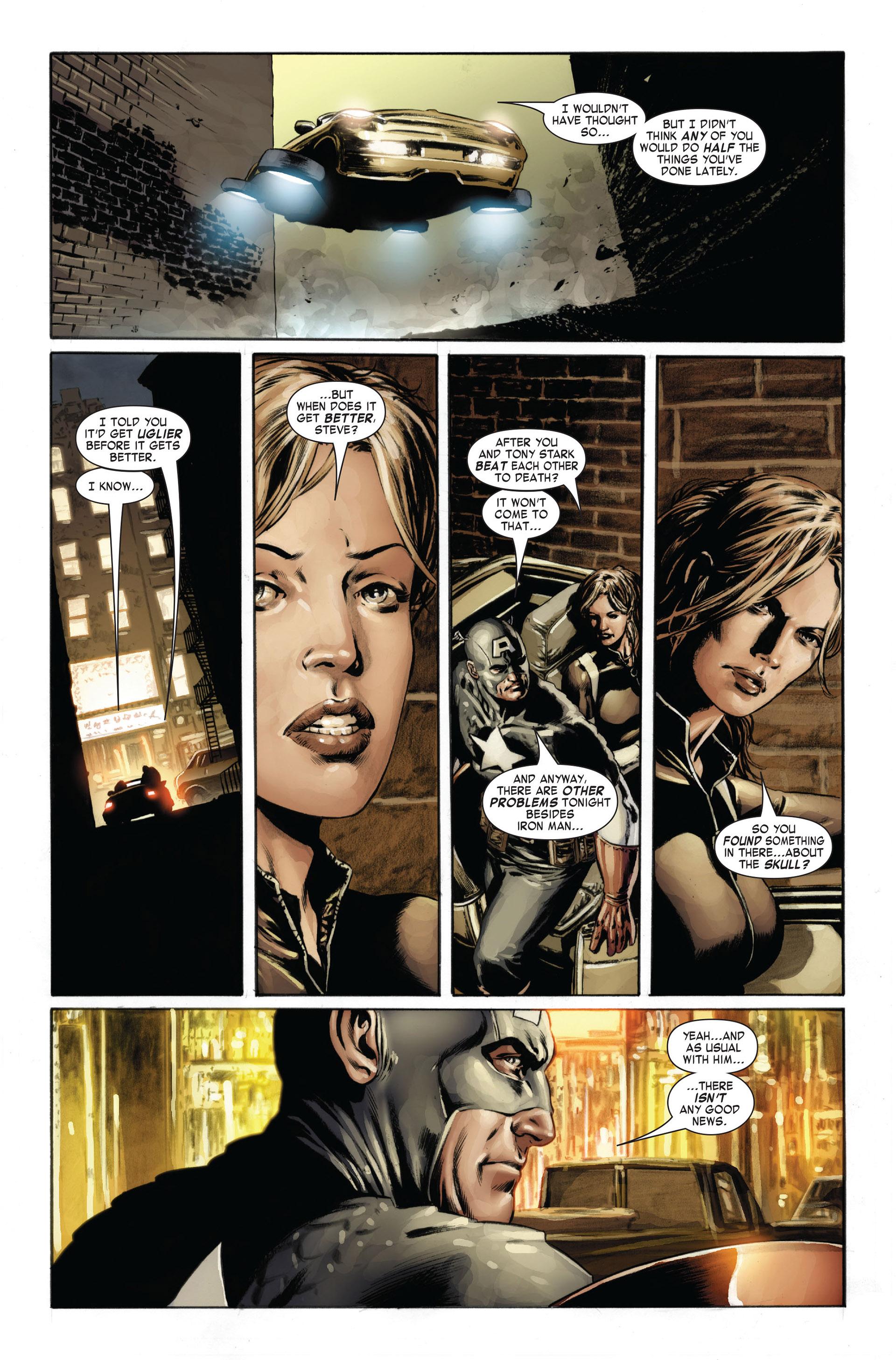 Captain America (2005) Issue #24 #24 - English 21
