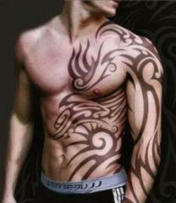 Tribal Sleeve Tattoos, Tattooing