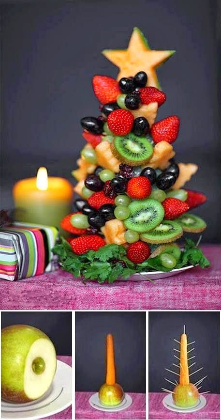 ♥ ♫ ♥ this is perfect for a dessert table at Christmas ♥ ♫ ♥
