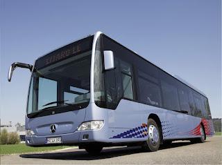 Foto Alat Transportasi Darat Bus Angkutan Umum
