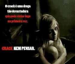 Viva bem, não use drogas!