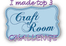 I made top 3 at Craft Room Challenge