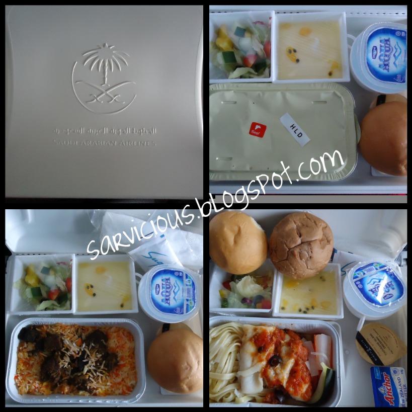 Makanan Pesawat Full Gizi :D