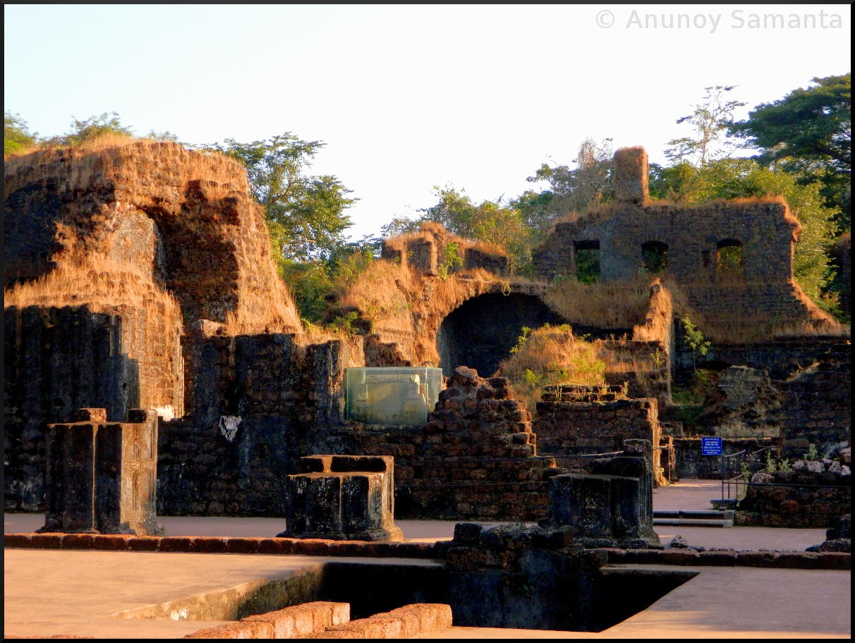 Old Goa Monuments - Ruins of St. Augustine Complex