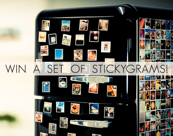 Win an Instagram Magnet Set from StickyGram and Bubby & Bean!