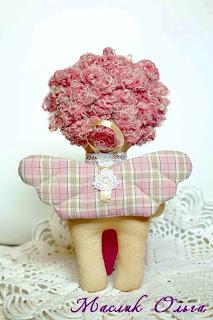 Маслик Ольга. Текстильная куколка Ангел