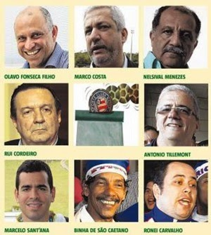 CANDIDATOS À PRESIDENTE DO BAHIA