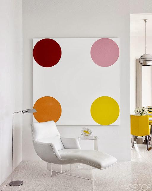 Interior Minimalis Penuh Warna