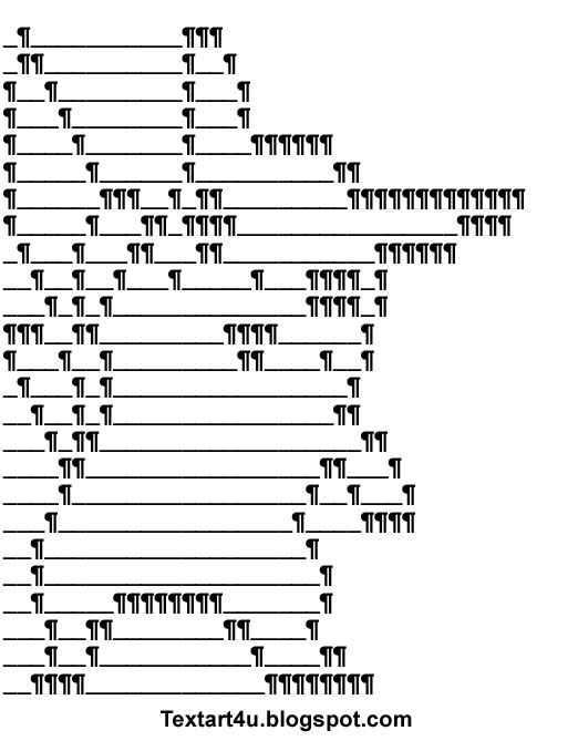Pokemon Pikachu Ascii Text Art Cool Ascii Text Art 4 U