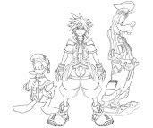 #5 Sora Coloring Page