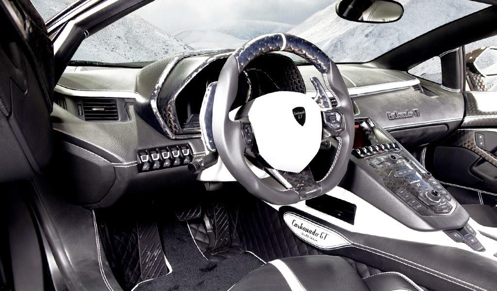 Lamborghini Aventador Carbon GT Interior