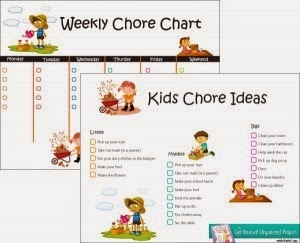 Create Your Own Chores & Rewards Board for Kids