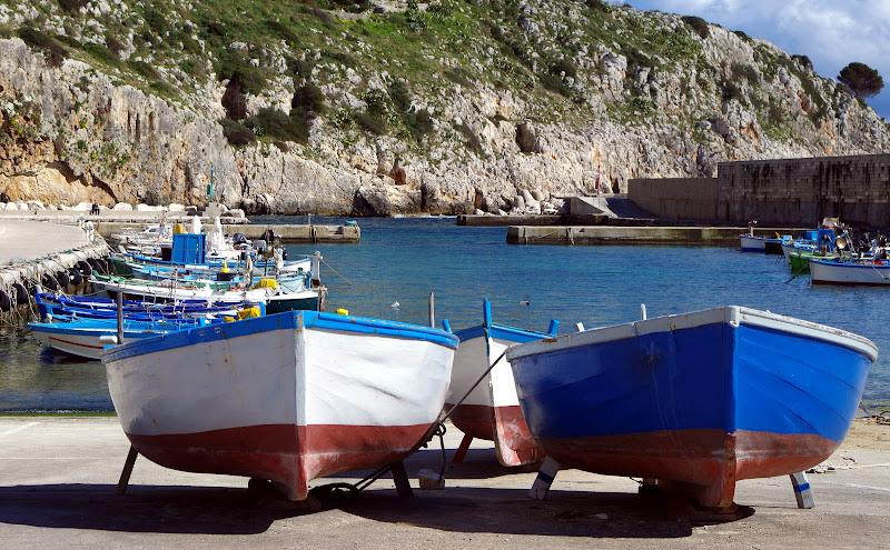 Hafen Castro Marina (Apulien)