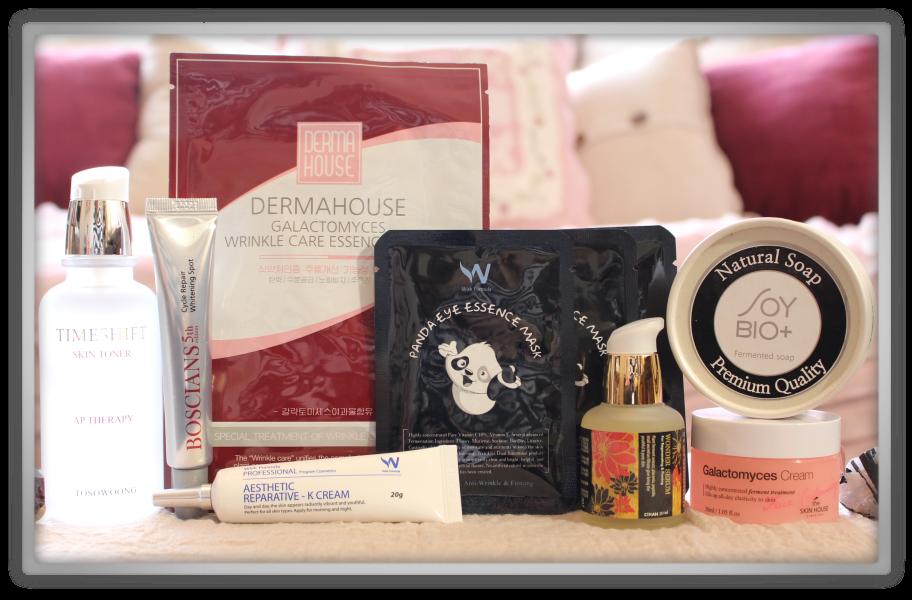 겟잇뷰티박스 by 미미박스 memebox beautybox Superbox #35 Fermented Cosmetics 2 unboxing review box look inside