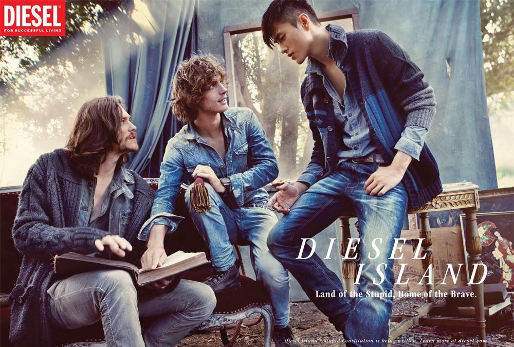 Diesel jeans women ads
