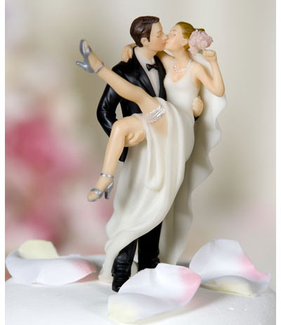 Modern wedding cake toppers Wedding cake toppers bride and groom