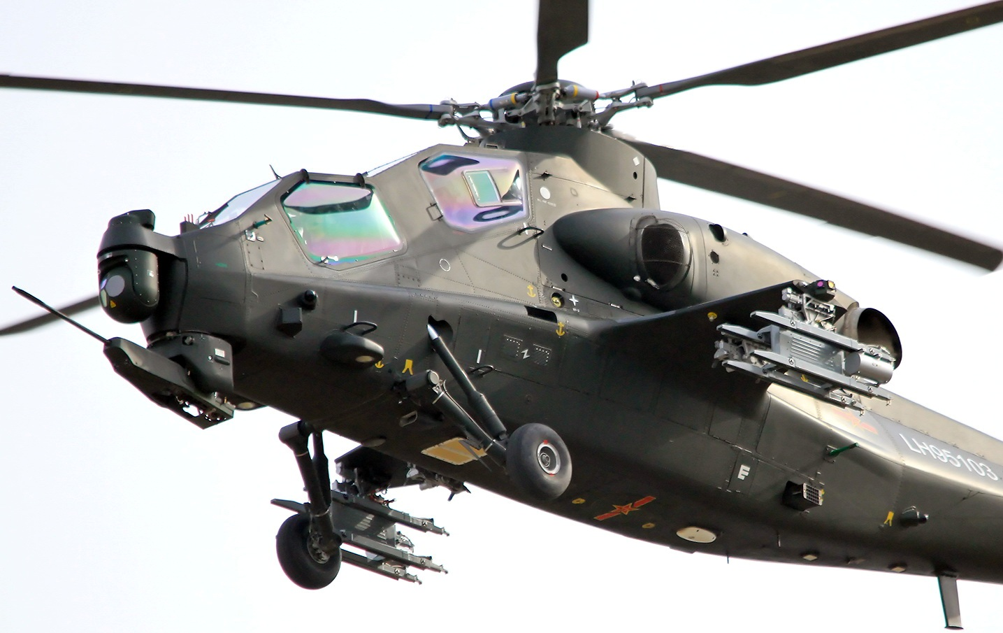 Fighter Jet: Z-10 Helicopter gunship