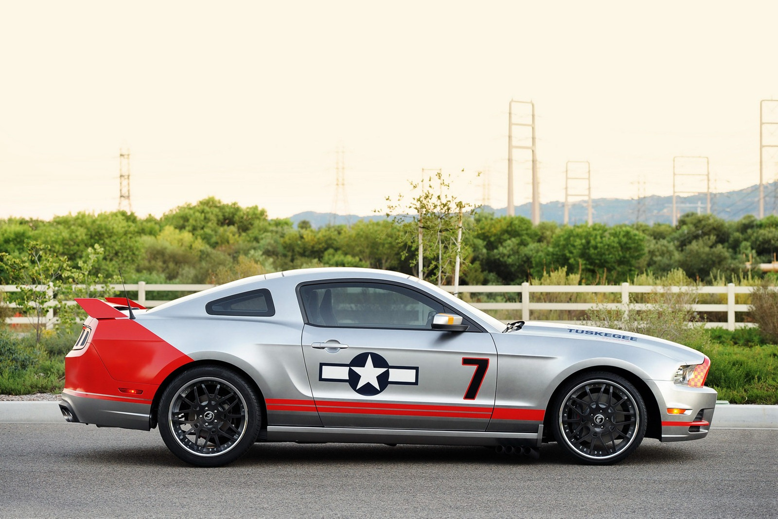 FMS P51D Mustang Red Tail Warbird PNP  trade4mede