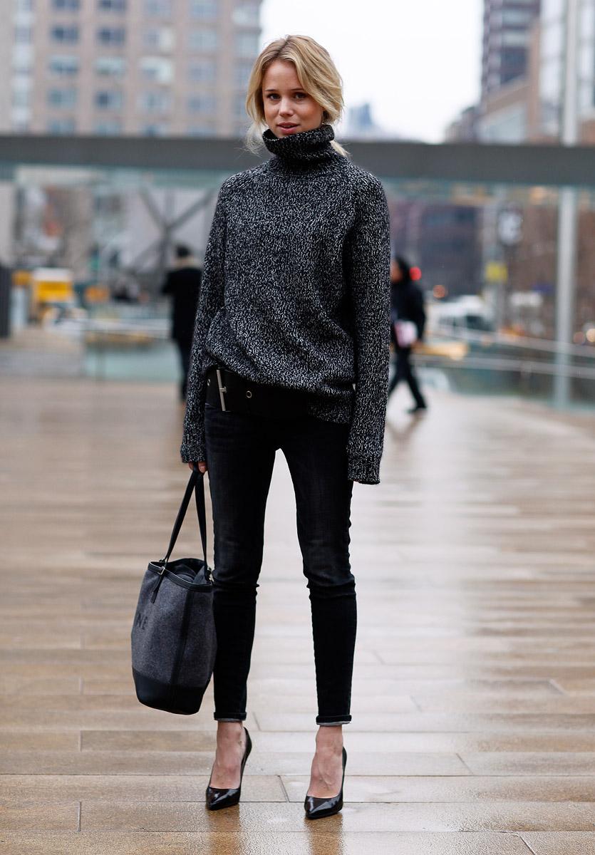 Trend Alert Chunky Knit Wear The Black Diamond Series