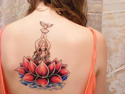 Tatuagens nas Costas para mulher
