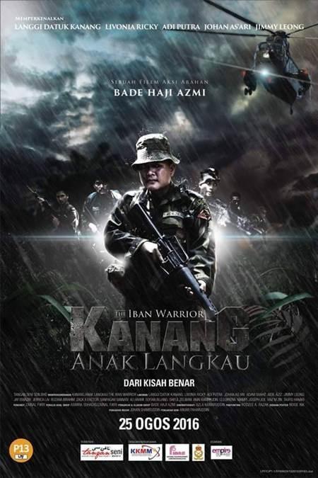 25 OGOS 2016 - KANANG ANAK LANGKAU : THE IBAN WARRIOR (MALAY & IBAN)