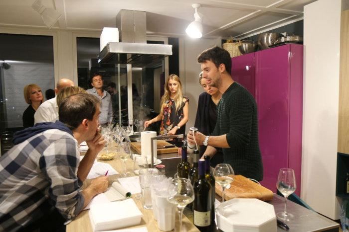 Il 16 febbraio nuova lezione nel loft Lorenzo Vinci a Milano per il Corso di Cucina d'Autore dedicato ai grandi Chef Italiani