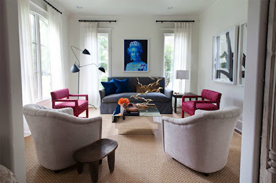 Salas estilo pop art ideas para decorar dise ar y for Muebles pop art