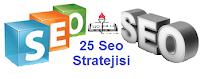 25 Çok Önemli Seo Stratejisi