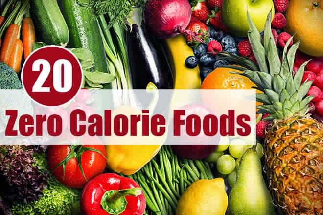 Women 39 S Fit 20 Zero Calorie Foods