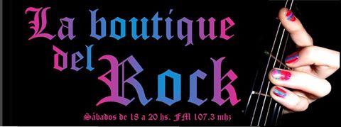 """Programa """"La Boutique del Rock"""""""